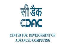 CDAC Notification 2019