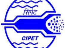 CIPET Notification 2019