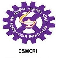 CSMCRI Recruitment