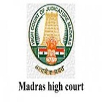 MADRAS HIGH COURT NOTIFICATION 2019