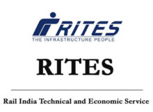 RITES Notification 2019
