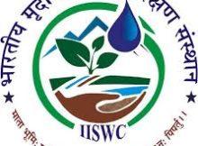 ICAR-IISWC Notification 2019