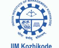 IIM Kozhikode Notification 2019