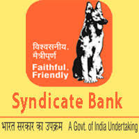 Syndicate Bank Notification 2019