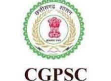 CGPSC Notification 2019