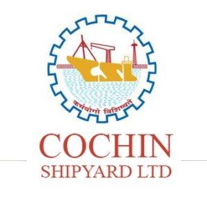 Cochin Shipyard  Notification 2020 – Opening for 624 Technician Posts