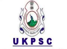 UKPSC Notification 2019