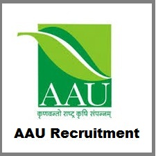 AAU Notification 2019 – Openings For Various Technician, Assistant Posts