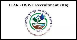 ICAR-IISWC Notification 2019 – Openings For Various SRF Posts
