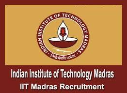 IIT Madras Notification 2019