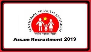 NHM Assam Notification 2019