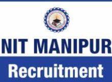 NIT Manipur Careers