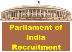 Parliament of India Jobs