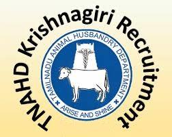 TNAHD Krishnagiri Notification 2019 – Openings For Various Assistant Posts