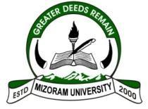 Mizoram University Notification 2021 – Openings for Various JRFS Posts