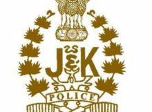 JK Police Notification 2020