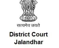 Jalandhar District Court Notification 2020