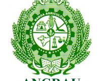 ANGRAU Notification 2020