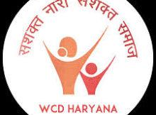 WCD Haryana Notification