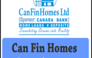 Can Fin Homes Limited Notification 2020