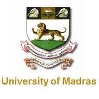 Madras University Notification 2021