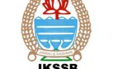 JKSSB Notification 2021
