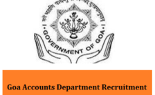 Directorate of Accounts Goa Notification 2021 – Opening for 112 Clerk Posts